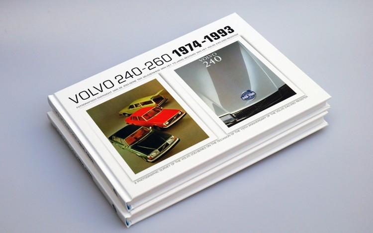 VOLVO 240-260  1974-1993 BOEKPRODUCTIE VORMGEVING