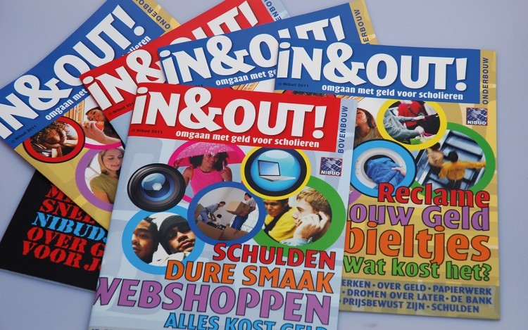 IN & OUT MAGAZINE ONTWERP PRODUCTIE