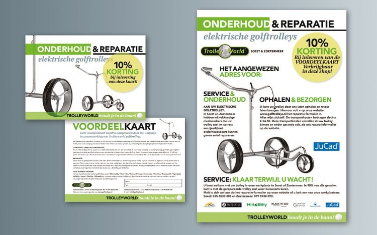 TROLLEYWORLD ADVERTENTIES, KAARTEN EN POSTERS VORM