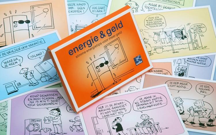 ENERGIE & GELD KAARTENSET CONCEPT VORMGEVING